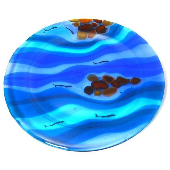 RIVER SERIES - ROUND SERVING PLATE