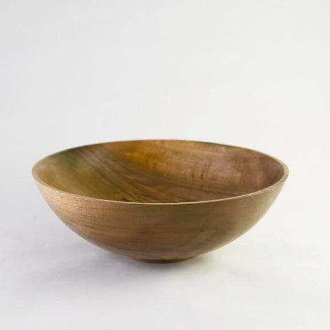 WALNUT WOODEN BOWL