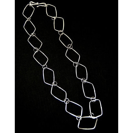 STERLING SILVER CHAIN NECKLACE - Side Street Studio