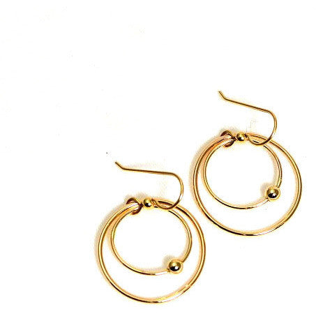 Copy of GOLD FILLED EARRINGS - Side Street Studio
