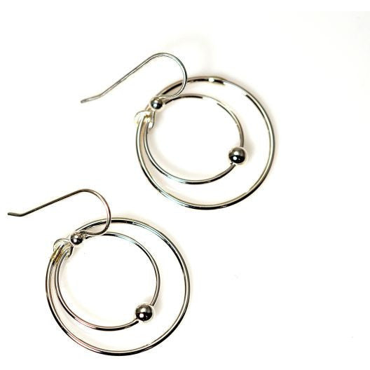 STERLING SILVER EARRINGS - Side Street Studio