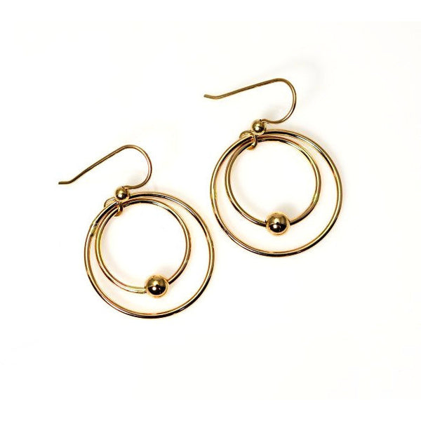 GOLD FILLED EARRINGS - Side Street Studio - 1