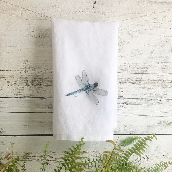 Dragonfly Tea Towels by Emma Pyle