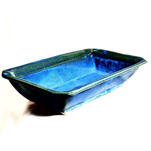 BLUE BAKING DISH - Side Street Studio