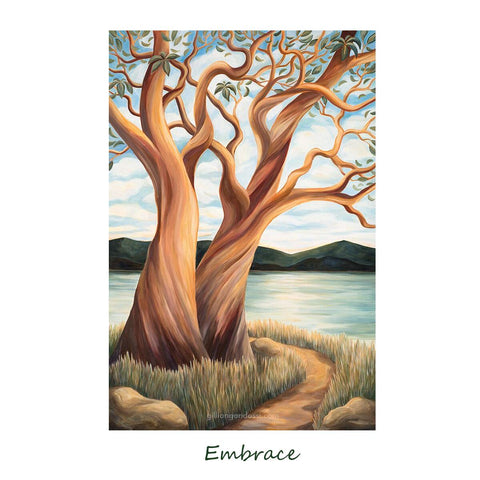 """EMBRACE"" 8X10 MATTED PRINT"