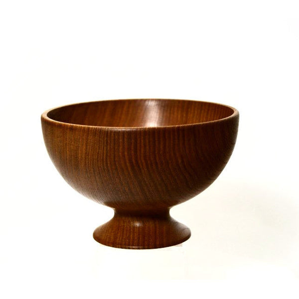 ELM PEDESTAL BOWL - Side Street Studio