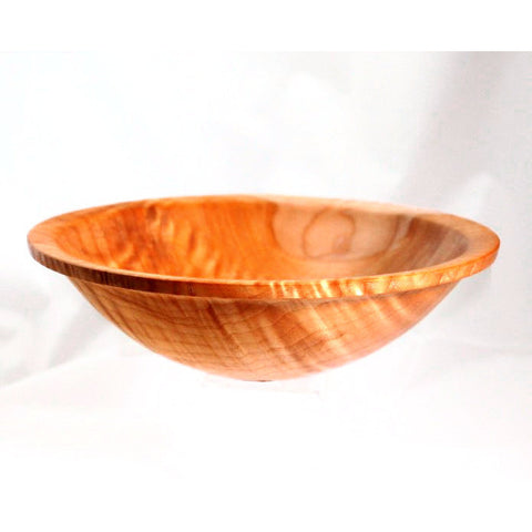 FIGURED MAPLE WOOD BOWL - Side Street Studio