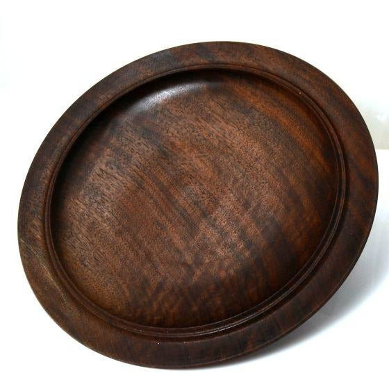 WALNUT WOOD PLATTER