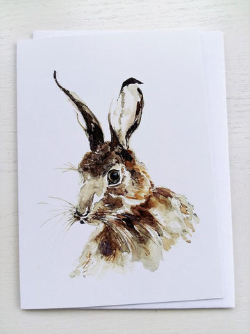 Mr. Hare Greeting Card