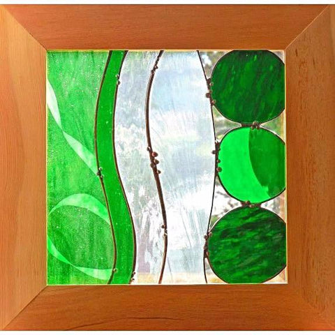 GOING COASTAL IN GREEN GLASS HANGING - Side Street Studio