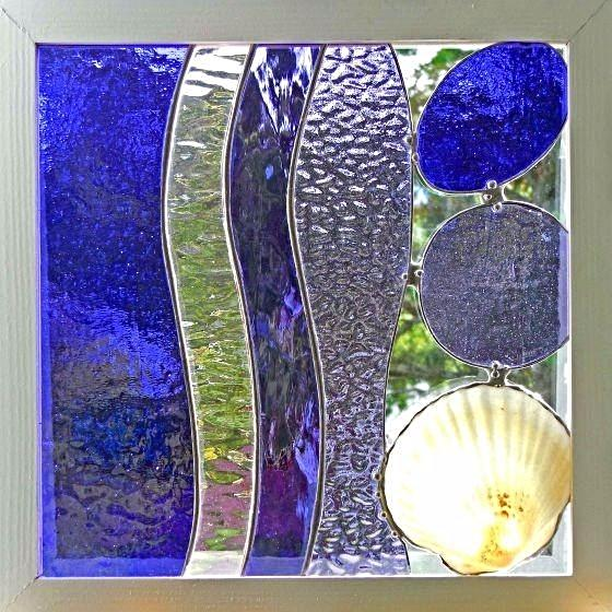 GOING COASTAL IN PURPLE GLASS HANGING - Side Street Studio