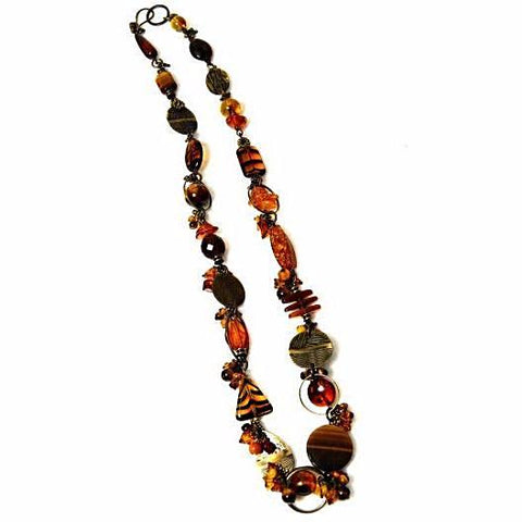 ELEMENTAL AMBER NECKLACE - Side Street Studio - 1