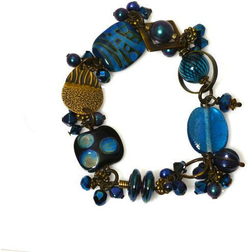 ATLANTIS BLUE BRACELET - Side Street Studio