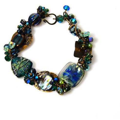 ATLANTIS GREEN BRACELET - Side Street Studio - 1