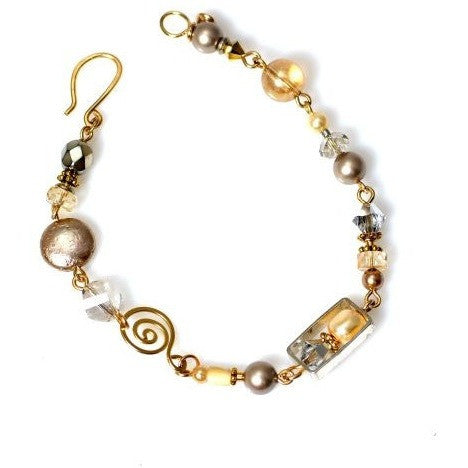 CHAMPAGNE ON ICE DELICA BRACELET - Side Street Studio