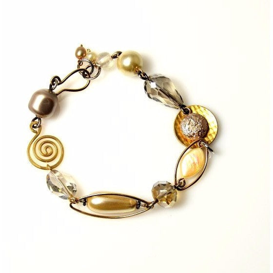 CHAMPAGNE ON ICE BRACELET