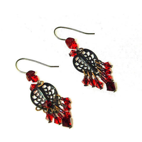 DANGER ZONE EARRINGS - Side Street Studio