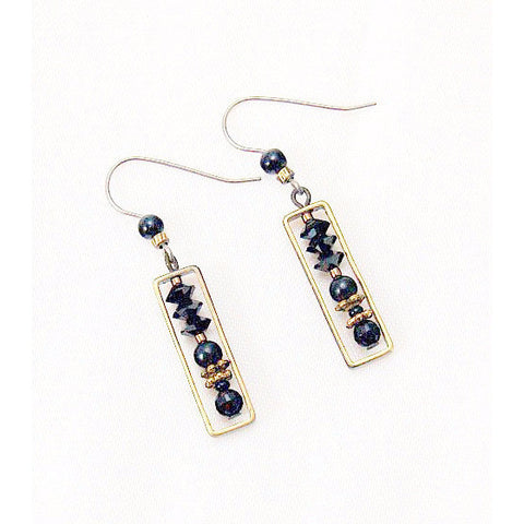 CLASSIC BLACK EARTHLY TREASURES EARRINGS - Side Street Studio