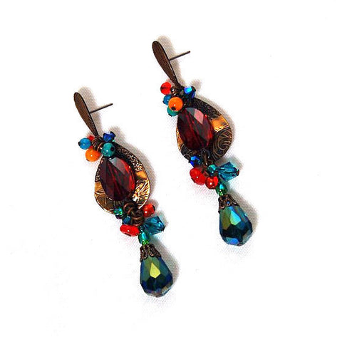 GALAXY EARRINGS - Side Street Studio - 1