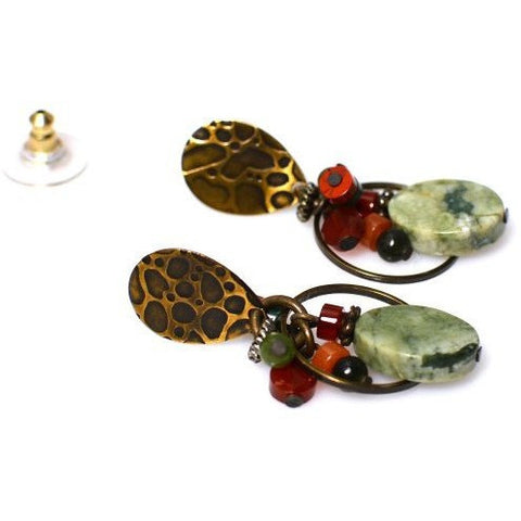 HARMONY JASPER EARRINGS
