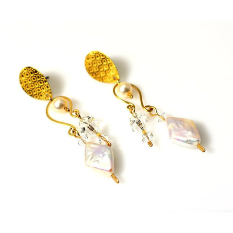 MOONSTRUCK EARRINGS - Side Street Studio