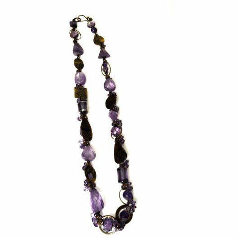 PASSION FOR PURPLE NECKLACE - Side Street Studio - 1