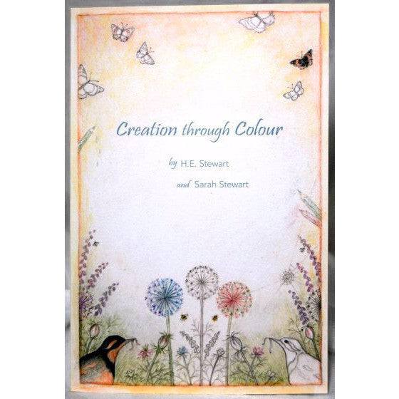 CREATION THROUGH COLOUR COLOURING BOOK - Side Street Studio - 1