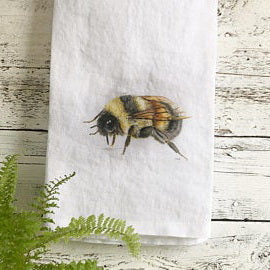 Honey Bee Tea Towels by Emma Pyle
