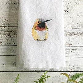 Hummingbird Tea Towels by Emma Pyle