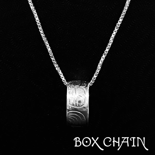 SPIRIT BEADS - BOX CHAIN - 18""