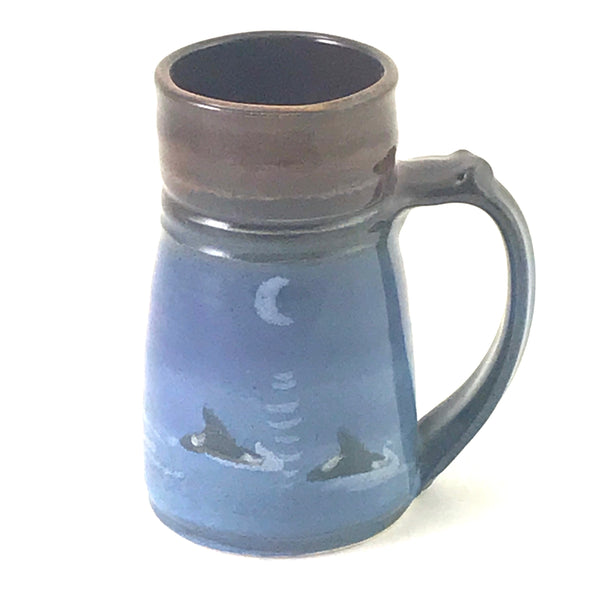 LARGE WIDE BASE ORCA MUG