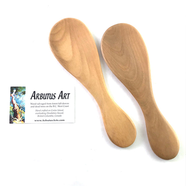 COLLECTORS ARBUTUS WOOD SALAD HANDS