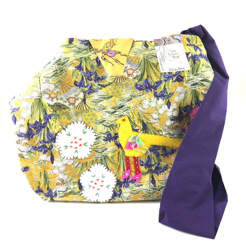 MISS BELLE'S CARAVAN - ZELDA BAG - TINY YELLOW BIRD
