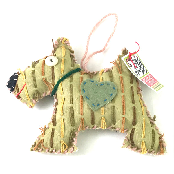 MISS BELLE'S CARAVAN - SCOTTIE DOG