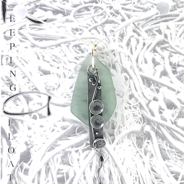 FISHING FLOAT SEA LIFE NECKLACE