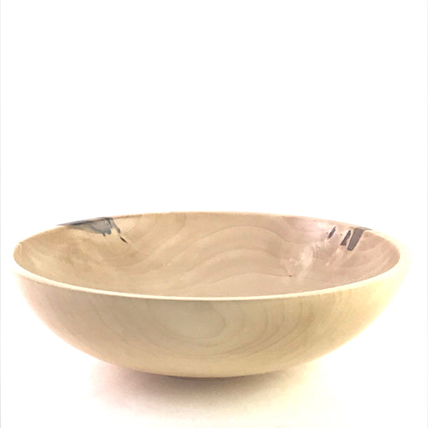 WESTERN MAPLE WOODEN BOWL