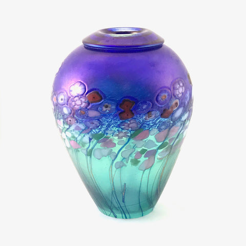 FLOWER BOUQUET GINGER JAR VASE