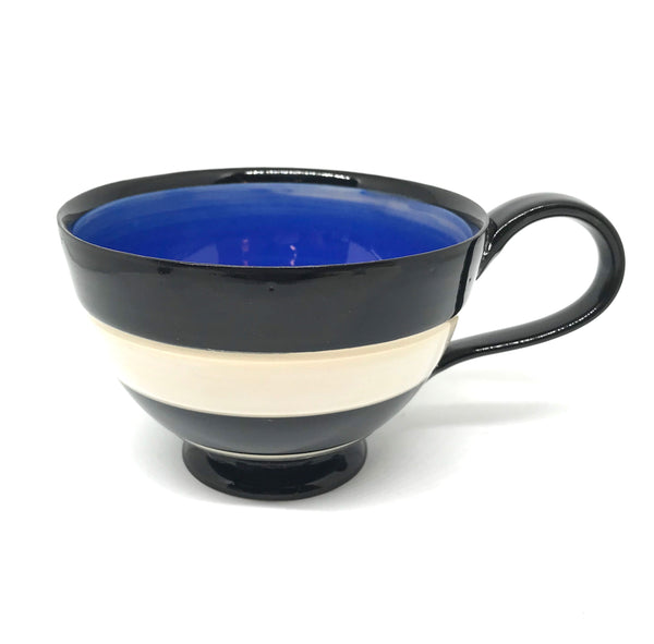 LELA LINE TEA CUP - BLUE