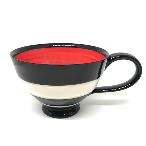 LELA LINE TEA CUP - RED