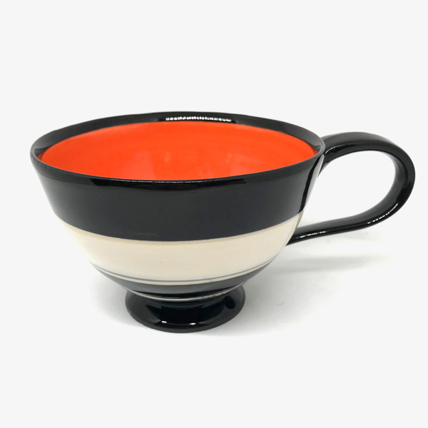 LELA LINE TEA CUP - ORANGE