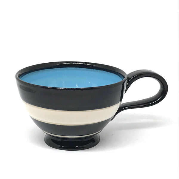 LELA LINE TEA CUP - LIGHT BLUE
