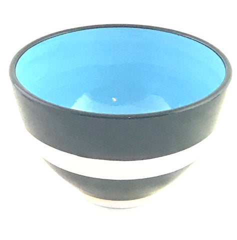 LELA LINE MEDIUM BOWL - LIGHT BLUE