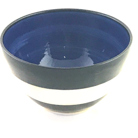 LELA LINE MEDIUM BOWL - DARK BLUE