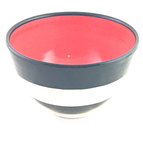 LELA LINE MEDIUM BOWL - RED