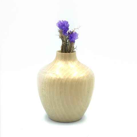 Mini Holly Wood Vase 2 3/4 inches