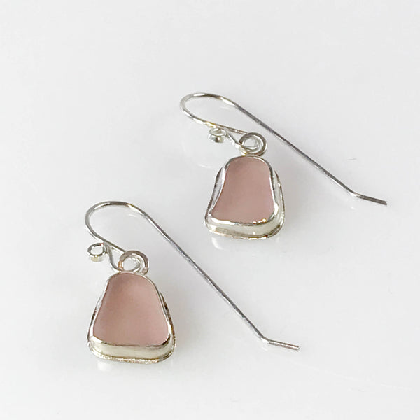 PINK DANGLY EARRINGS
