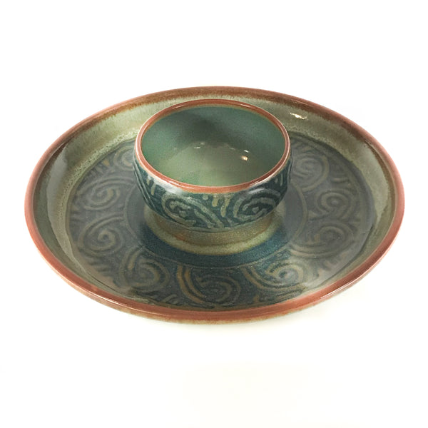 SERVING PLATTER AND BOWL SET