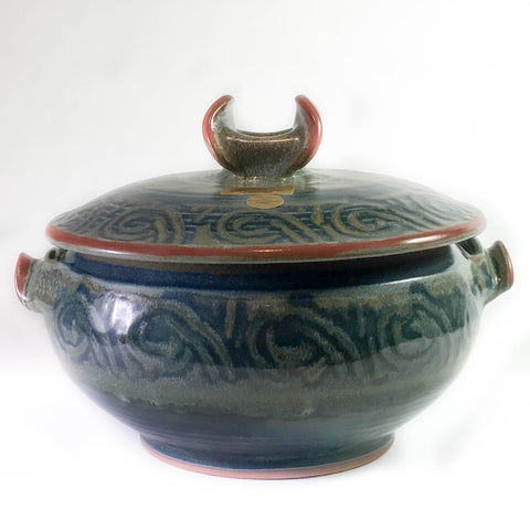 LIDDED CASSEROLE - LARGE