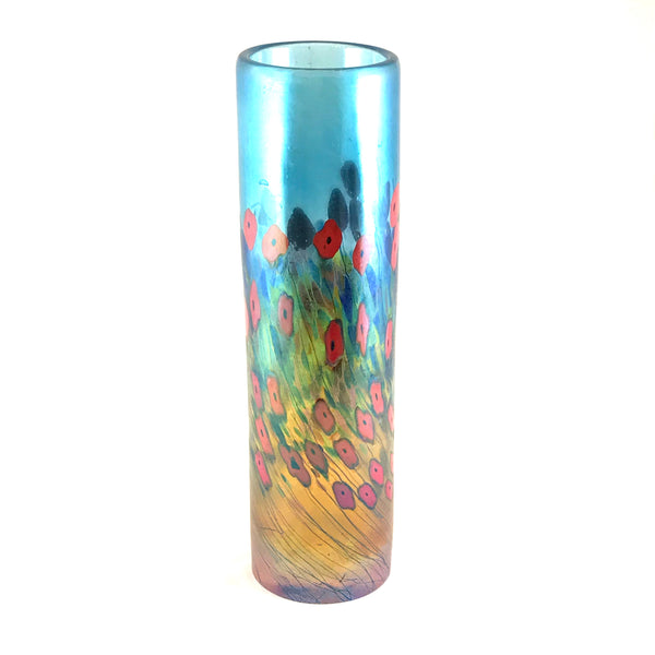 CALIFORNIA POPPY CYLINDER VASE