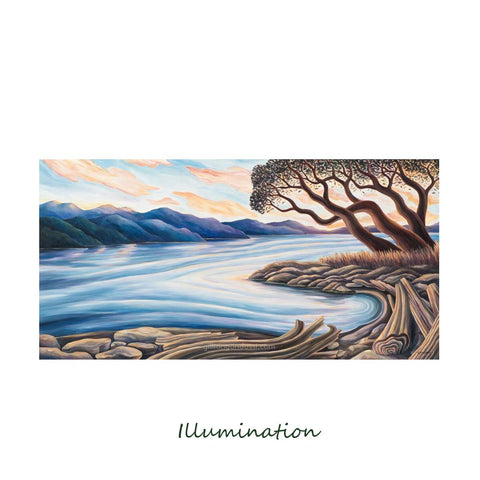 """ILLUMINATION"" 8X10 MATTED PRINT"